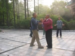 Thomas og Yun Yin Sen